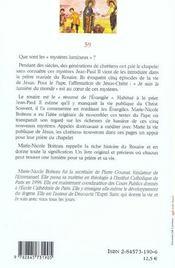 Mysteres Lumineux Jean-Paul Ii - 4ème de couverture - Format classique