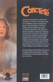 Concrete T.1 - 4ème de couverture - Format classique