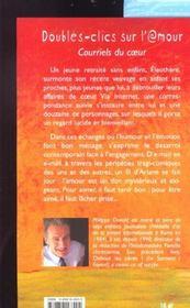 Doubles Clics Sur L'Amour ; Courriels Du Coeur - 4ème de couverture - Format classique