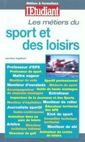Metiers Du Sport Et Des Loisirs - Intérieur - Format classique