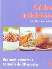 Cuisine antidiabete - Intérieur - Format classique