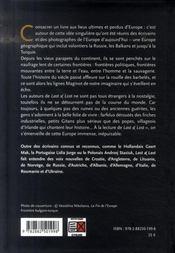 Last and lost ; atlas d'une Europe fantôme - 4ème de couverture - Format classique