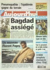 Aujourd'Hui En France N°564 du 07/04/2003 - Couverture - Format classique