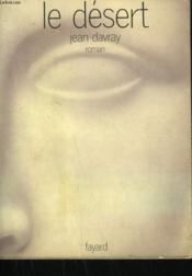 Le Desert. - Couverture - Format classique