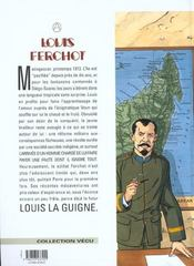 Louis Ferchot t.5 ; l'île rouge - 4ème de couverture - Format classique