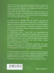 La mondialisation (2e édition) - 4ème de couverture - Format classique