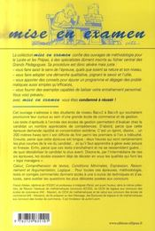 Les tests d'aptitude à l'entrée des écoles de gestion (3e édition) - 4ème de couverture - Format classique