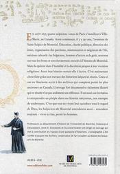Les sulpiciens de Montreal ; une histoire de pouvoir et de discretion 1657-2007 - 4ème de couverture - Format classique