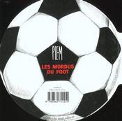 Les Mordus Du Foot - 4ème de couverture - Format classique