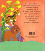 Elmer Et L Etranger - 4ème de couverture - Format classique