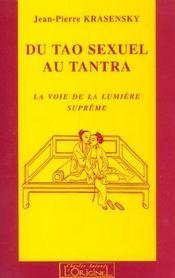 Du Tao Sexuel Au Tantra - Intérieur - Format classique