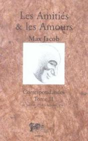 Amities Et Les Amours T2 - Couverture - Format classique