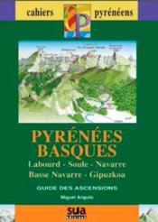 Pirineo Vasco, Lapurdi, Zuberoa, Nafarroa... guia ascenciones - Couverture - Format classique