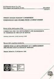 Rapport de la 9e session du comite pour le developpement et l'amenagement des peches dans le golfe du bengale n.523 - Couverture - Format classique