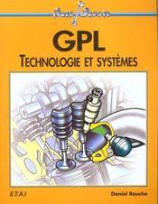 Gpl, technologie et systemes - Intérieur - Format classique