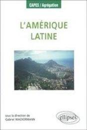 L'amérique latine - Couverture - Format classique