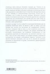 L'amérique latine - 4ème de couverture - Format classique