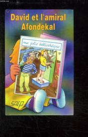 David et l'amiral afondekal (t. 17) - Couverture - Format classique
