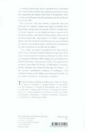 De La Separation Des Eglises Et De L'Etat A L'Avenir De La Laicite - 4ème de couverture - Format classique