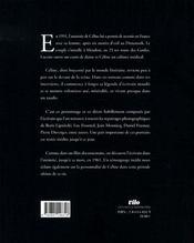 Céline à meudon ; images intimes, 1951-1961 - 4ème de couverture - Format classique