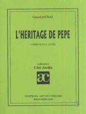 L'heritage de pepe - Couverture - Format classique