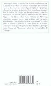 Annees Buissonnieres (Les) - 4ème de couverture - Format classique