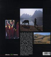 Chine - 4ème de couverture - Format classique