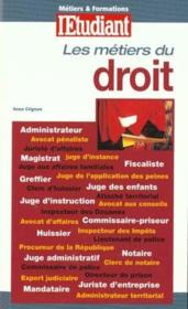 Les Metiers Du Droit ; Edition 2000 - Couverture - Format classique