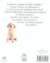 Les bebes animaux - 4ème de couverture - Format classique