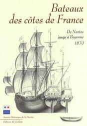 Bateaux des côtes de France ; de Nantes jusqu'a Bayonne - Intérieur - Format classique