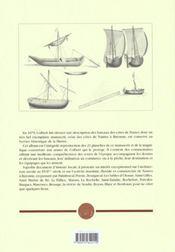 Bateaux des côtes de France ; de Nantes jusqu'a Bayonne - 4ème de couverture - Format classique