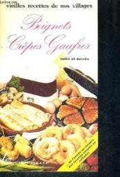 Beignets crepes gaufres - Couverture - Format classique