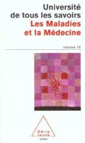 Les Maladies Et La Medecine - Couverture - Format classique