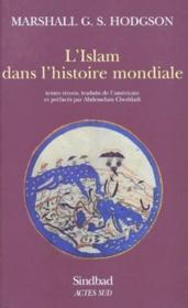 L'Islam dans l'histoire mondiale - Couverture - Format classique