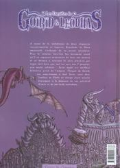 Les enquetes de goirid et leodhas t.2 ; un golem pour tho-brouk - 4ème de couverture - Format classique