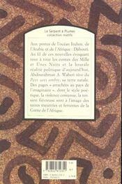 Pays Sans Ombre N24 N.Ed - 4ème de couverture - Format classique