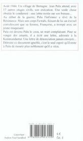Croix Sur La Mer (Des) - 4ème de couverture - Format classique
