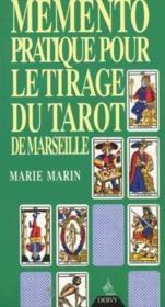 Memento pratique de tarot (dervy) - Couverture - Format classique