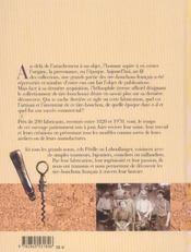 Tire Bouchons Francais - 4ème de couverture - Format classique