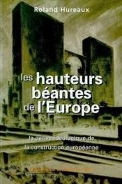 Hauteurs beantes de l'europe - Couverture - Format classique