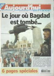 Aujourd'Hui En France N°567 du 10/04/2003 - Couverture - Format classique