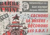 Barra A Mine N°7 - Cachons La Misere : Decorons Les S.D.F - Couverture - Format classique