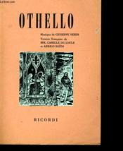 Othalo - Drame Lyrique En Quatre Actes - Couverture - Format classique