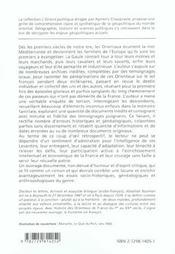 Histoire Des Orientaux De France Du Ier Au Xxe Siecle - 4ème de couverture - Format classique