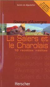Saveurs D'Auvergne:Salers Et Charolais - Intérieur - Format classique