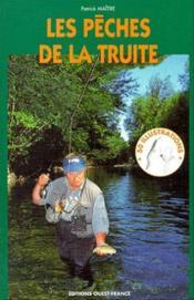 Les pêches de la truite - Couverture - Format classique