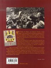 Sur les pas de charles de gaulle - 4ème de couverture - Format classique