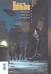 L'Idole Dans La Bombe T.2 - 4ème de couverture - Format classique