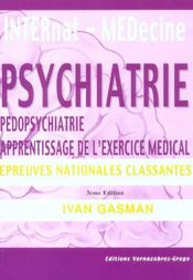 Psychiatrie, Pedopsychiatrie, Apprentissage De L'Exercice Medical - Intérieur - Format classique