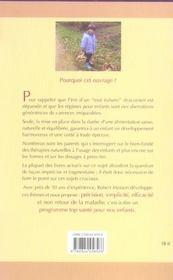 Precis De Pediatrie Naturopathique - 4ème de couverture - Format classique